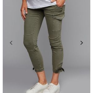 Cargo maternity pant